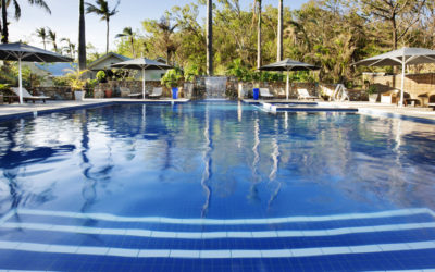 Pool Area @ Palm Bay Resort