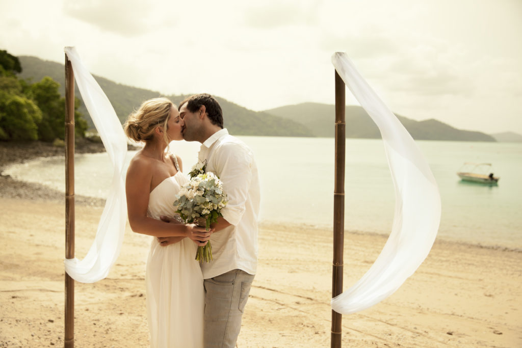 island weddings whitsundays australia