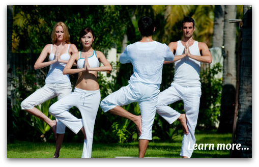 Yoga retreat palm bay whitsundays