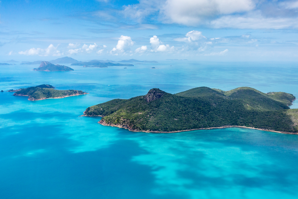 Whitsunday Island Scenic Flights
